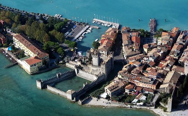 ГАРДА, самое большое озеро в Италии