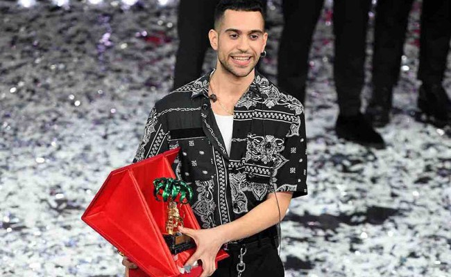Италия: на фестивале в Сан-Ремо победил рэпер Mahmood
