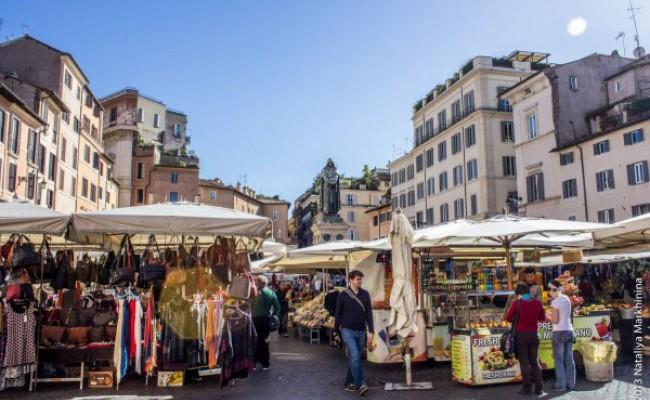 Римские рынки будут открыты до позднего вечера