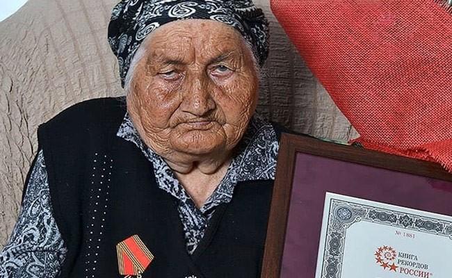 В Кабардино-Балкарии скончалась самая пожилая россиянка