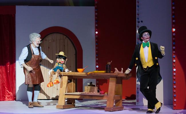 Португалия: Мюзикл «Буратино» в Лиссабоне