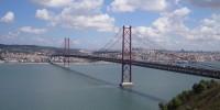 Португалия: Мост «25 апреля» - самый красивый в Европе