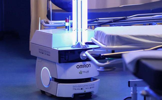 В Португалии разработали робота-дезинфектора