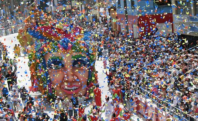 Испания: Сант Медир - самый сладкий фестиваль