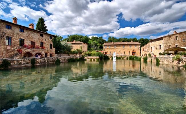 Италия: посетить термальные источники - бесплатно