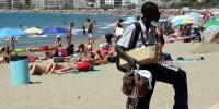 Испания: на туриста в Барселоне напали уличные торговцы