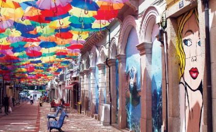 Португалия: праздник зонтиков AgitÁgueda