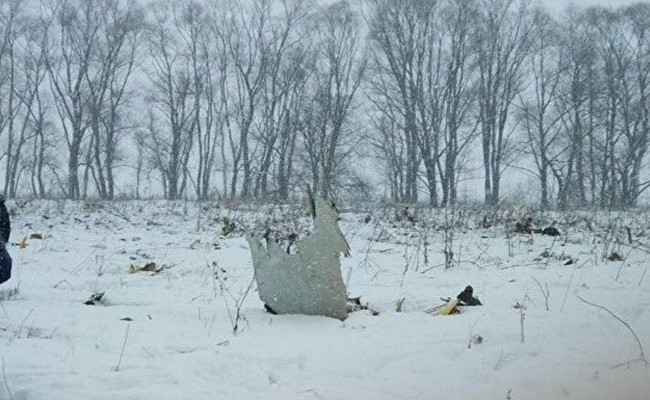 Пассажирский самолет рухнул в Подмосковье