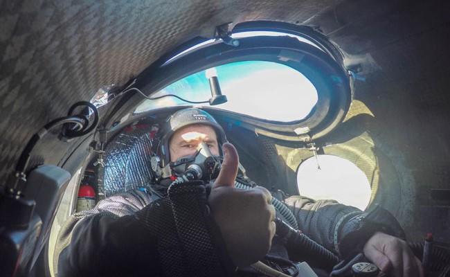 Испанский пилот хочет покорить стратосферу на планере