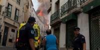В столице Португалии прогремел взрыв, ранены туристы