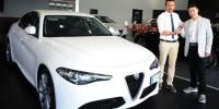 Италия: спорт-седаны Alfa Romeo Giulia добрались до дилеров