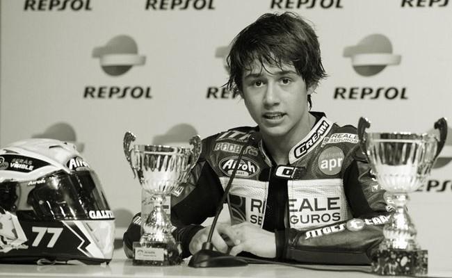 Испания: погиб 14-летний испанский чемпион по мотоспорту