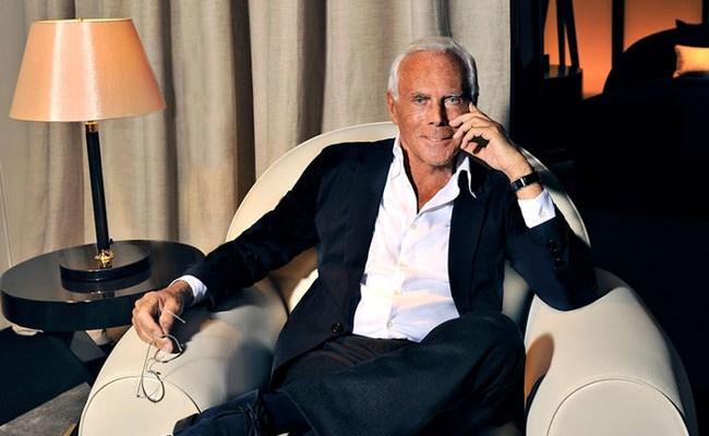 Италия: Джорджио Армани исполнилось 84 года