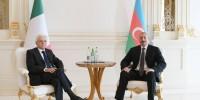 В Баку состоялись переговоры президентов Азербайджана и Италии
