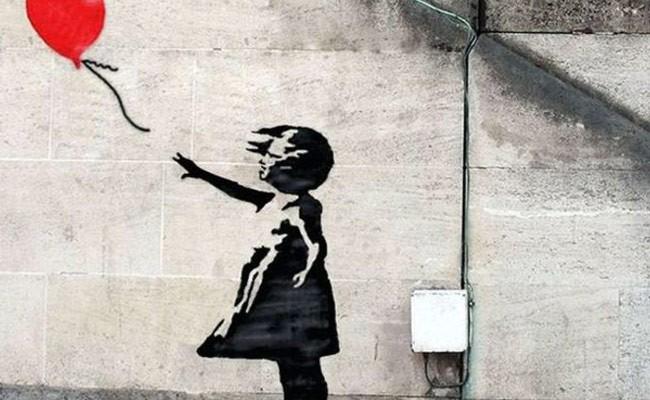 Италия: найдено новое граффити Бэнкси