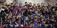 «Барселона» выиграла Кубок Испании по футболу