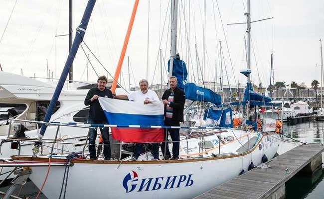 Португалия: в «кругосветке» экипаж российской яхты прибыл в Кашкайш