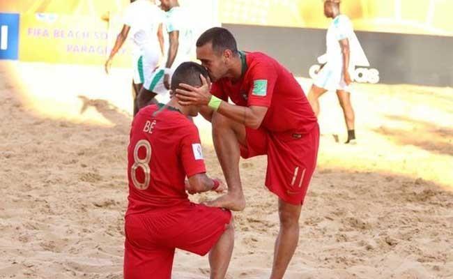 Португалия обыграла Сенегал по пляжному футболу