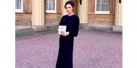Виктория Бекхэм получила орден Британской империи