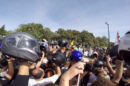 Португалия: освящение шлемов в Фатиме