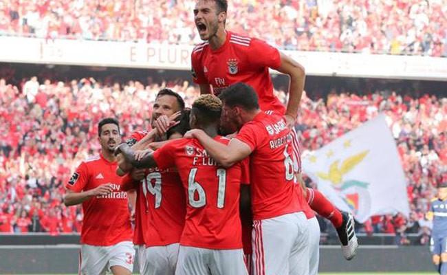 «Бенфика» стала чемпионом Португалии в 37-й раз