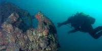В Португалии создали «подводную тропу» к затонувшему самолету