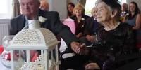 Столетняя британка вышла замуж