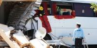 Португалия: туристический автобус протаранил стену, есть жертва