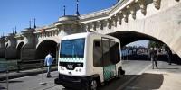 В Париже начали курсировать беспилотные автобусы