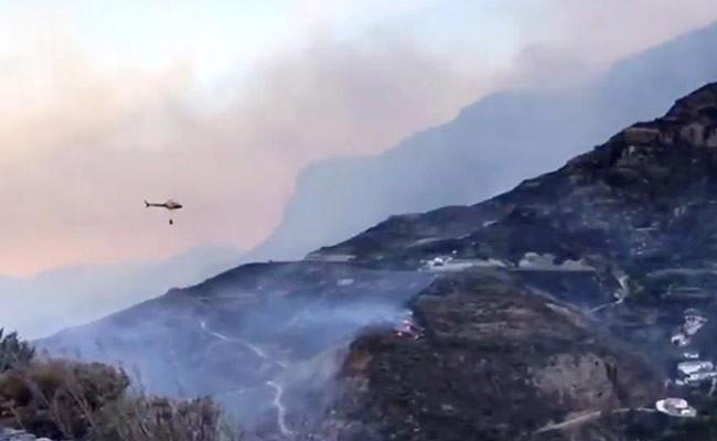 Испания: пожар в Гран-Канарии стабилизировался