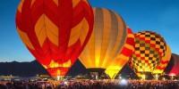 Португалия: международный фестиваль воздухоплавания в Коруши