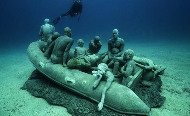 Первый в Европе подводный музей
