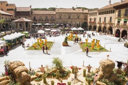 Испания: фестиваль цветов De Flor en Flor