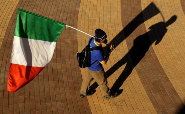 Безработица в Италии сократилась в апреле до 12,4%