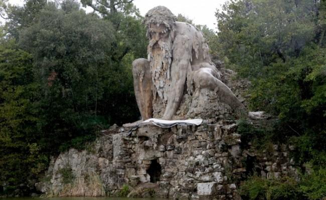 Италия: реставрирован Аппенинский гигант Джамболоньи