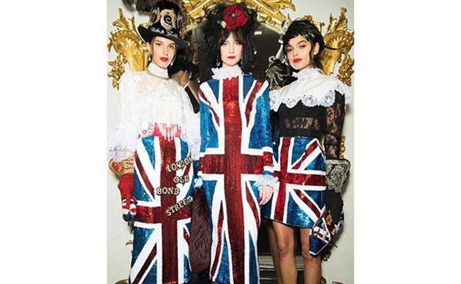 Италия: Dolce & Gabbana порвали британский флаг на юбки