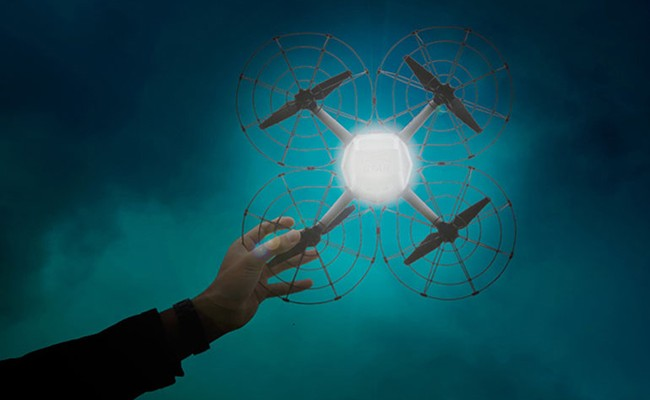 Италия: первое шоу дронов в Неаполе