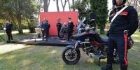 Полиция Италии получила служебные мотоциклы Ducati Multistrada