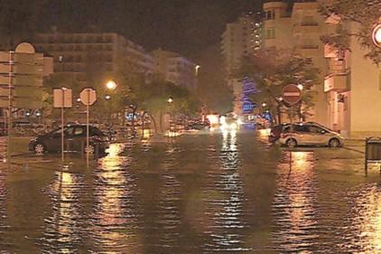 Португалию снова затопило
