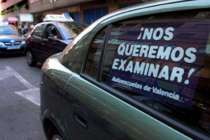 Бастуют экзаменаторы автошкол в Испании