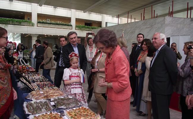 Испания: королева открыла дипломатическую ярмарку