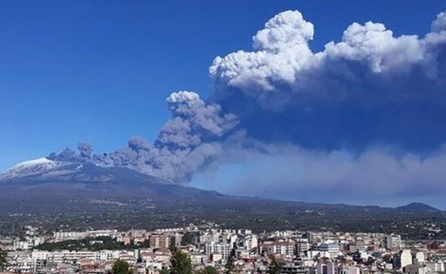 Италия: произошло новое извержение Этны