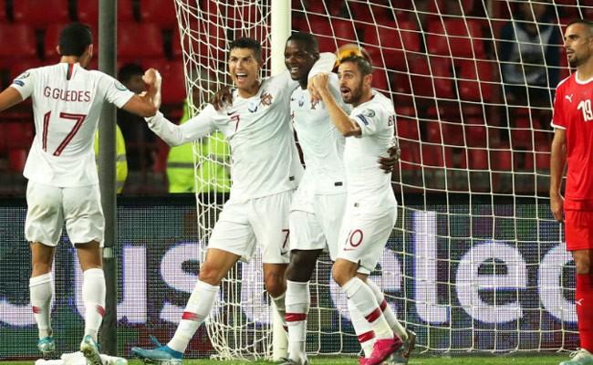 Сборная Португалии победила команду Сербии