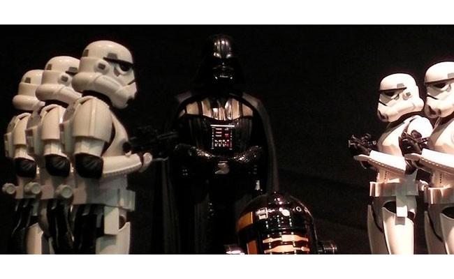 Испания: выставка посвященная «Звездным войнам»