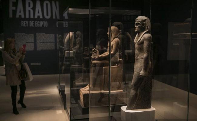 Испания: в Caixaforum открылась выставка «Фараон. Король Египта»