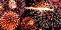Португалия: новогодние фейерверки в Кашкайше
