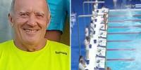 Испанский пловец почтил жертв теракта