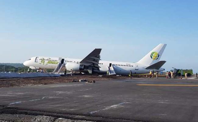 Самолет упал через несколько секунд после взлета