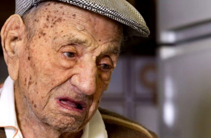 Самый старый мужчина на Земле отпраздновал 113-летие в Испании