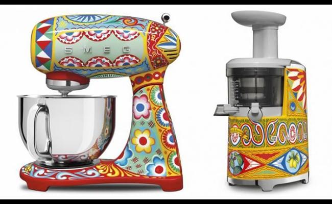Италия: Dolce & Gabbana создал линейку кухонных приборов